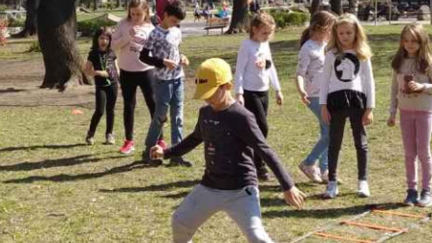 Гимнастика Фантастика в парка!